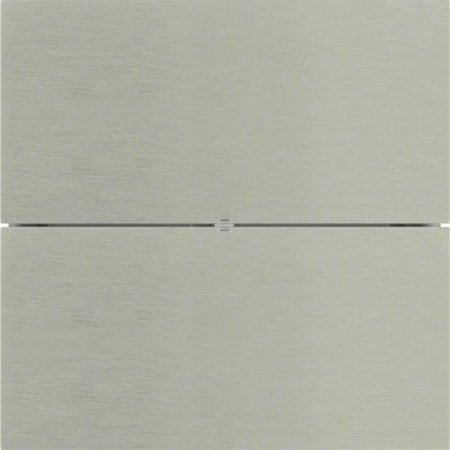 Tastsensor 2fach Komfort B.IQ Glas Edelstahl Rostfrei Hager 75162593
