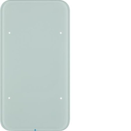Touch-Sensor 2fach Komfort R.1 Glas polarweiß Hager 75142860