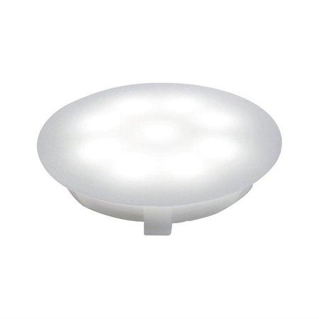 Treppenleuchte Rund UpDown Mini LED EBL 1x1W weiß