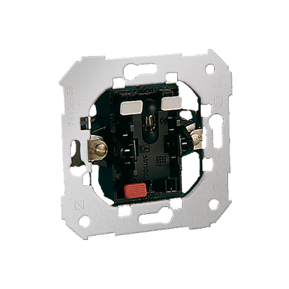 Treppenschalter- Einsatz mit LED 10AX Kontakt Simon 82 75202-39