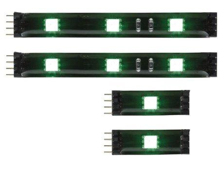 Verbinder Set 20cm YourLED RGB Schwarz