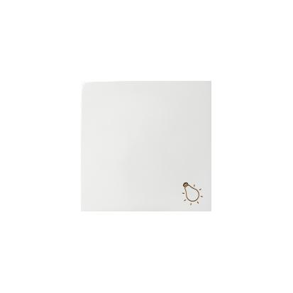 Wippe 1fach mit Symbol Licht 1fach weiß glänzend Kontakt Simon 82 82018-30