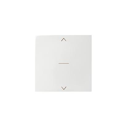 Wippe für Jalousieschalter mit Symbol Pfeile 1fach weiß glänzend Kontakt Simon 82 82033-30