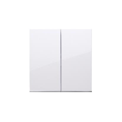 Wippe für Schalter/Taster 2fach weiß glänzend Simon 54 Premium Kontakt Simon DKW5/11