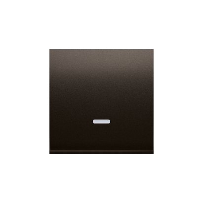 Wippe für Schalter/Taster mit Linse braun matt Simon 54 Premium Kontakt Simon DKW1L/46