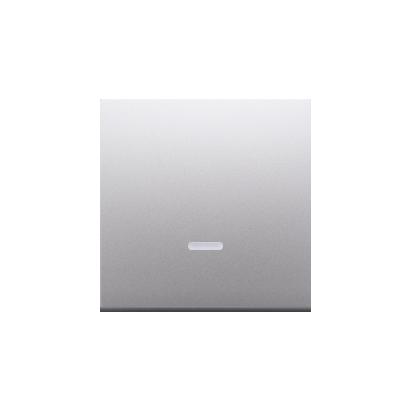 Wippe für Schalter/Taster mit Linse silber matt Simon 54 Premium Kontakt Simon DKW1L/43