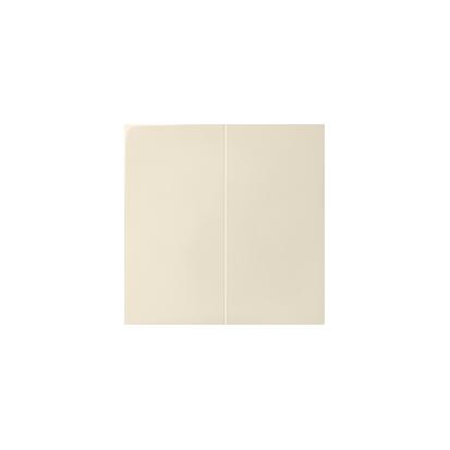 Wippe für Serien- und Doppel-Schalter 2fach beige matt  Kontakt Simon 82  82026-31